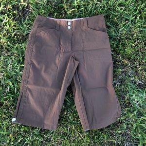 NIKE GOLF Tech Slim Fit dry Bermuda Flat Front 6